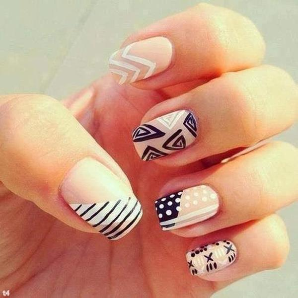 50 easy nail designs art and design
