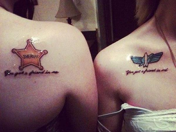 Sister tattoo ideas - 50+ Sister Tattoos Ideas  <3 !