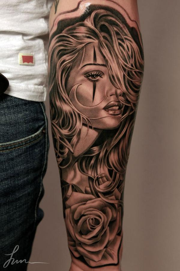 3D Forearm Tattoo - 110+ Awesome Forearm Tattoos <3 <3