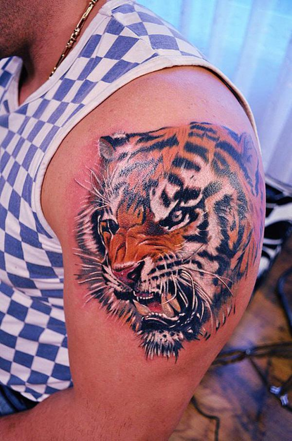 55 Awesome Tiger Tattoo Designs | Art and Design