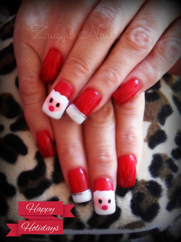 65 Cute Christmas Nails | Art and Design