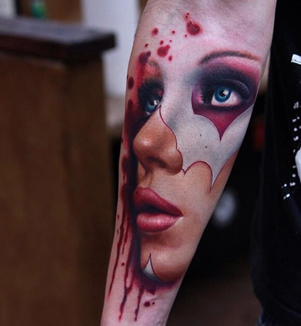 Portrait Forearm Tattoo