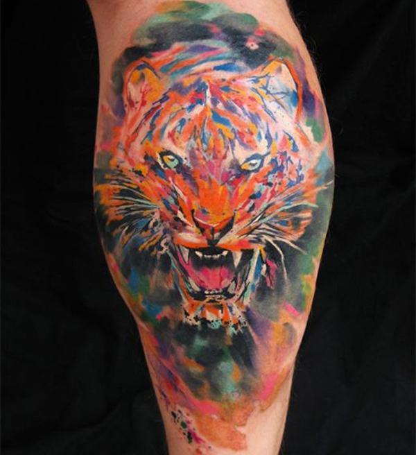 f1c977724 55 Awesome Tiger Tattoo Designs | Art and Design