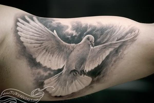 55 Peaceful Dove Tattoos Art And Design