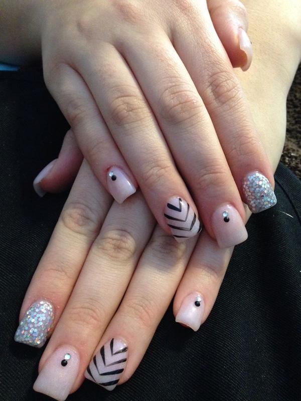 50+ Acrylic Nail Designs | Art and Design
