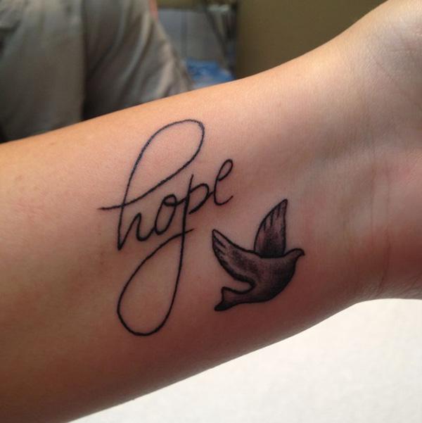 dove bird tattoos for men