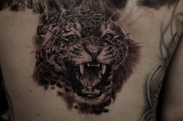 simple tiger tattoo