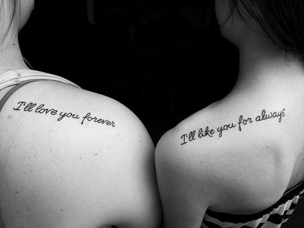 Shoulder sister Tattoos - 50+ Sister Tattoos Ideas  <3 !