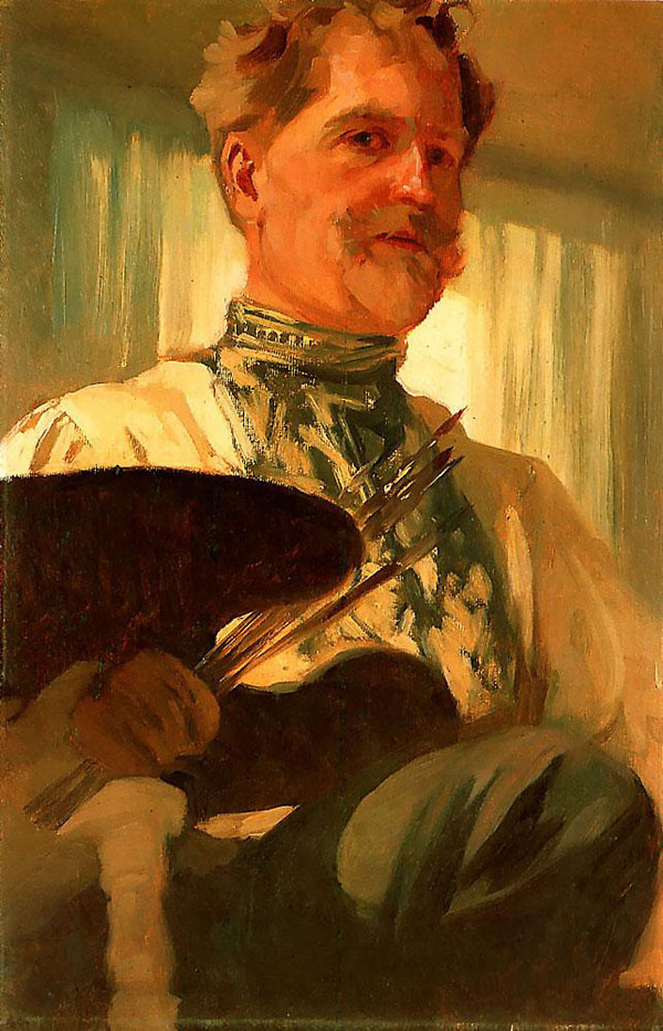 Autoportrét Alfonza Muchu