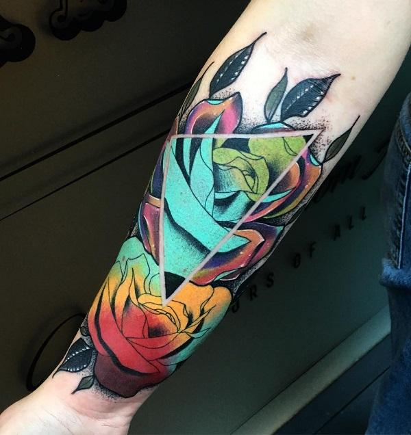 110 Awesome Forearm Tattoos Cuded