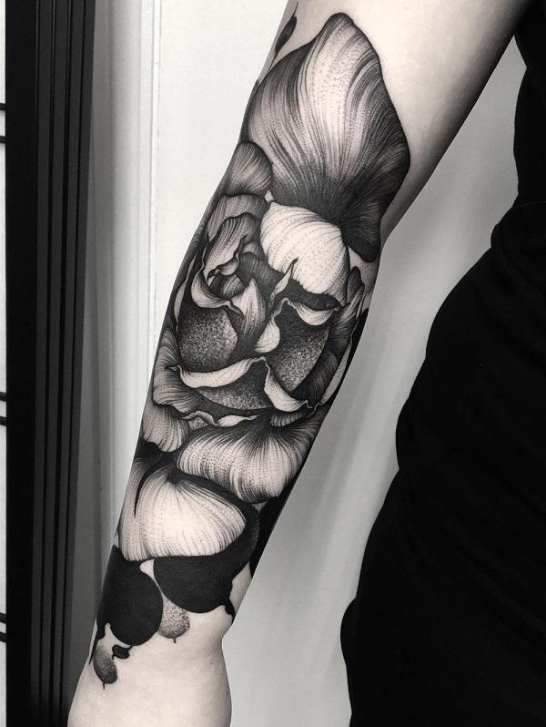 e1046273bbf4a Flower forearm tattoo - 110+ Awesome Forearm Tattoos <3 ...