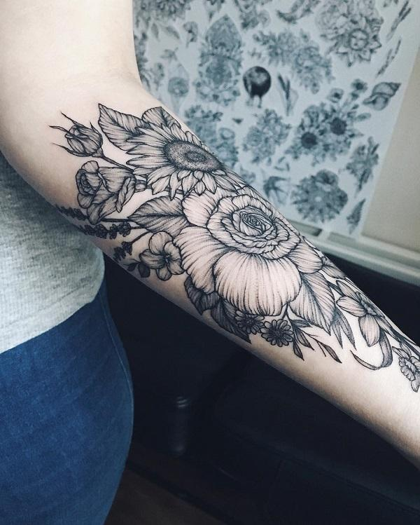 110+ Awesome Forearm Tattoos | Art and Design