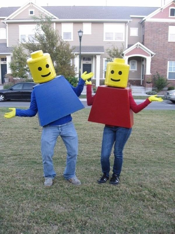 Legos Couple Costumes