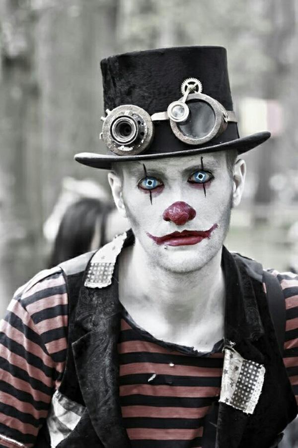 Halloween Schminke Fuer Maenner.Halloween Make Up Manner Joker Doing The Artist