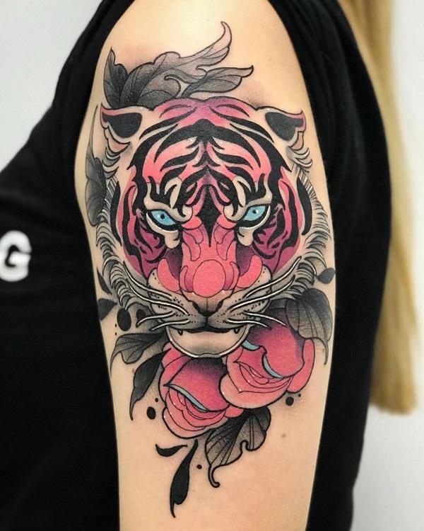 9805926d9 Tiger tattoo - 55 Awesome Tiger Tattoo Designs ...