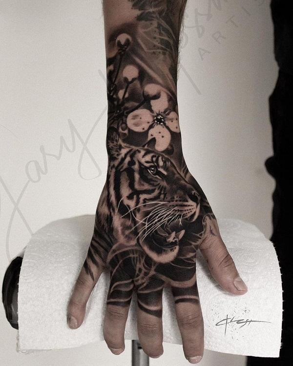 55 Awesome Tiger Tattoo Designs Art And Design