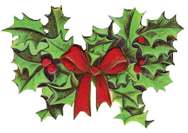 Christmas Clip Art Image Which Can Be Put On Any E Card