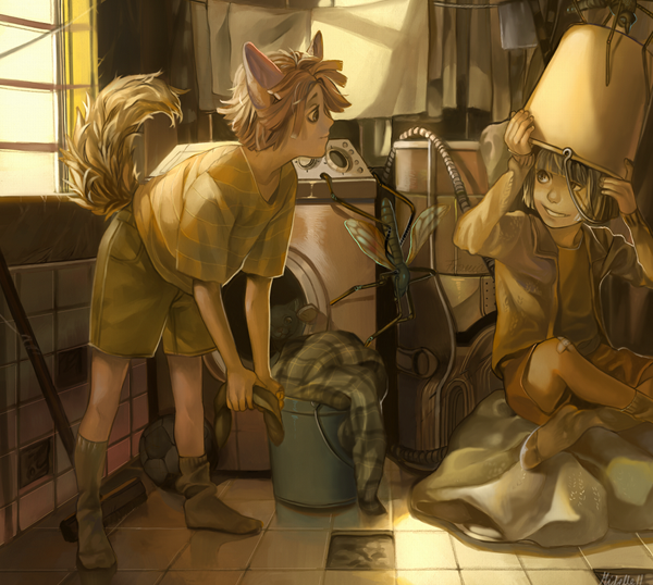 Laundry - 50 Examples of Anime Digital Art <3 !