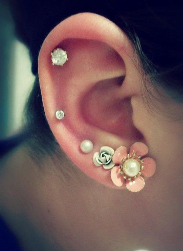 ear cartilage piercing: