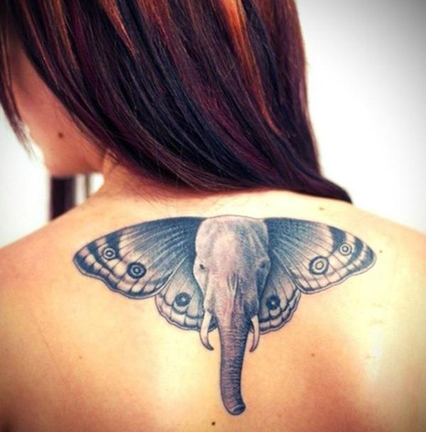 Butterfly elephant tattoo - 55 Elephant Tattoo Ideas  <3 !