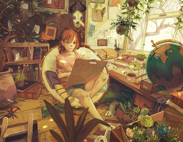 habitat - 50 Examples of Anime Digital Art <3 !