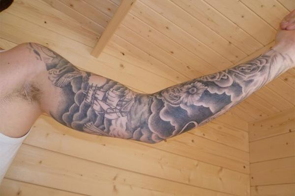40 Awesome Cloud Tattoo Designs | Art and Design