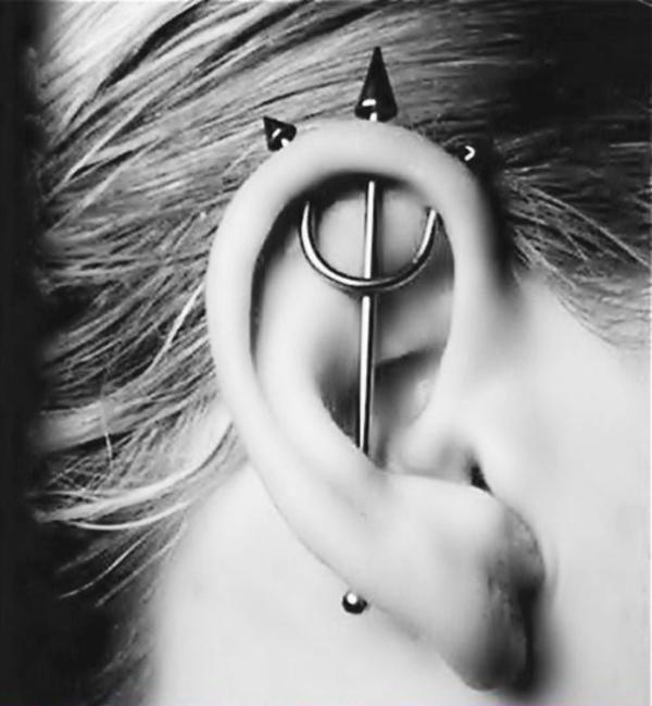50 Beautiful Ear Piercings Art And Design