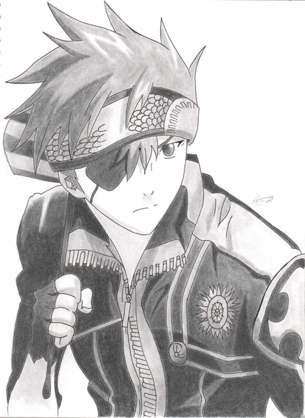 Anime Jacket Drawing Materi Pelajaran 9