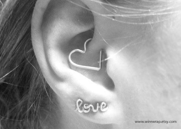 Ear Piercings 50 Beautiful 3