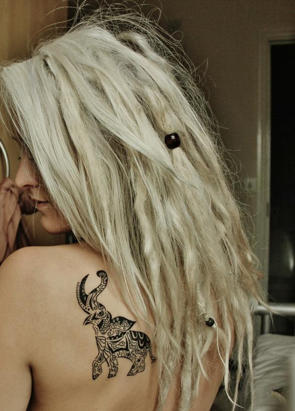 Tribal elephant tattoo - 55 Elephant Tattoo Ideas  <3 !