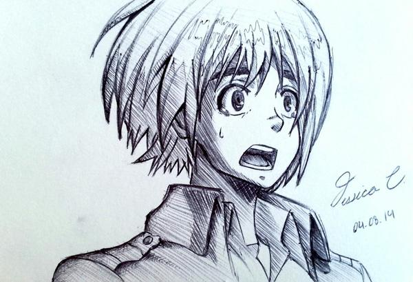 Armin arlert 55 beautiful anime drawings