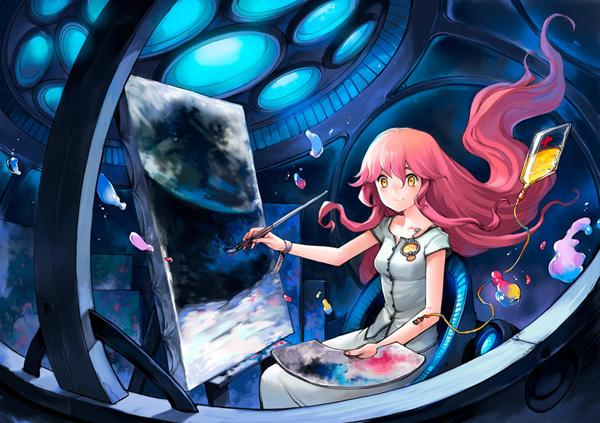 A Painting from the moon - 50 Examples of Anime Digital Art <3 !