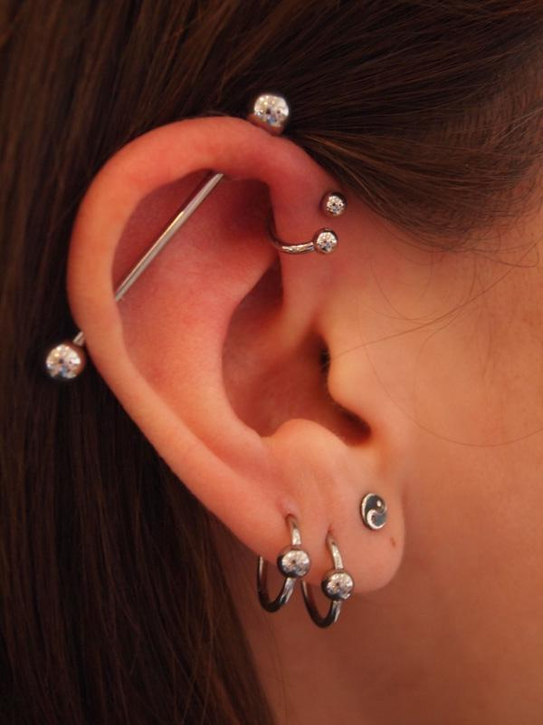 Tragus Piercing Piercings Can Also Be Placed On The Which Is Part