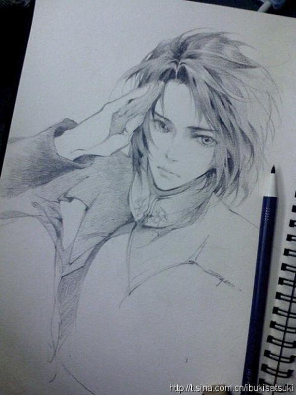 Best Anime Art Ever Pencil Sketch