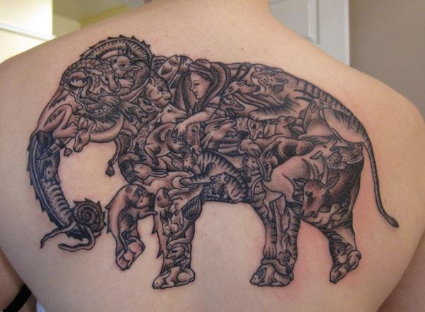 Elephant Tattoo - 55 Elephant Tattoo Ideas  <3 !