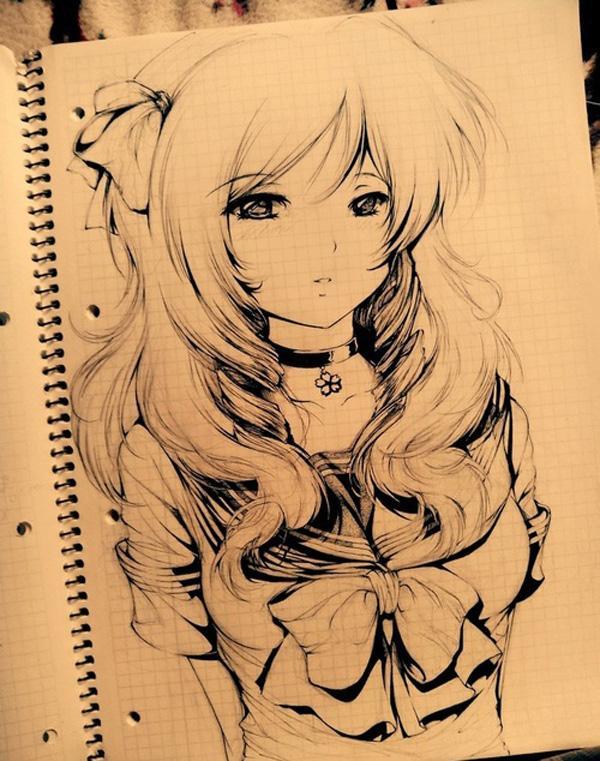 55 Beautiful Anime Drawings Cuded