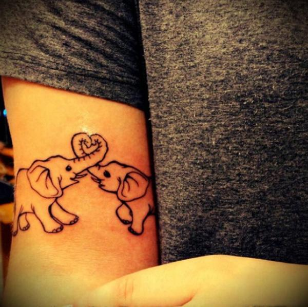 Cute elephant tattoo - 55 Elephant Tattoo Ideas  <3 !