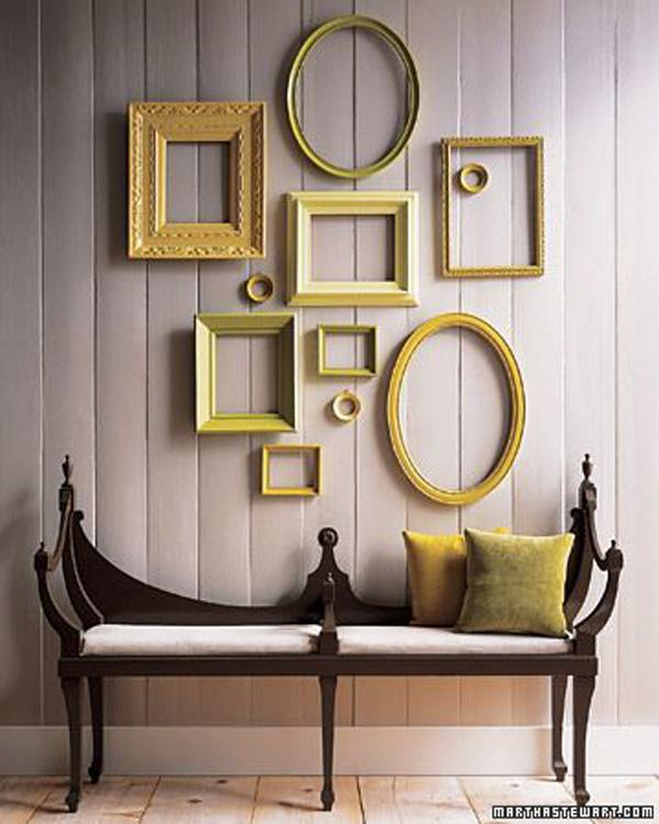 Awesome Empty frames Wall Art Ideas for Decoration uc uc