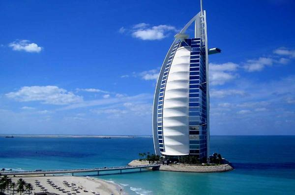 famous architecture in the world. 2. The Burj Al Arab \u2013 Dubai - Built On An Artificial Island 280 Meters Famous Architecture In World Cuded
