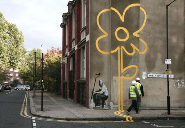 30 Pieces Of Banksy Street Art