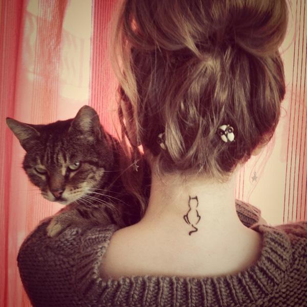 100 Examples Of Cute Cat Tattoo Art And Design