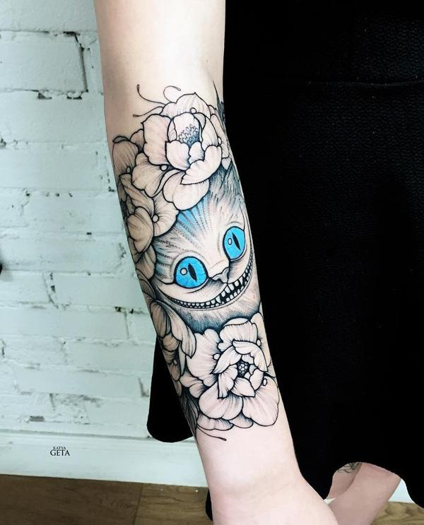 100+ Examples of Cute Cat Tattoo | Art and Design