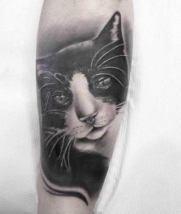 733b4843c11eb Cute cat tattoo. Cute cat tattoo - 100+ Examples of Cute Cat Tattoo <3 ...