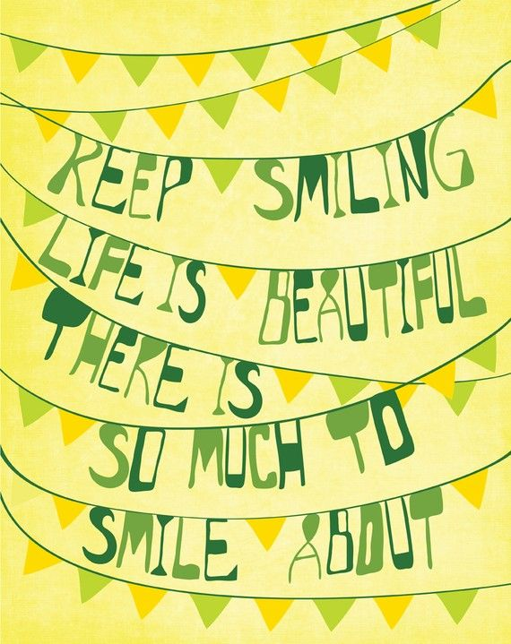 50 inspirational smile quotes art and design