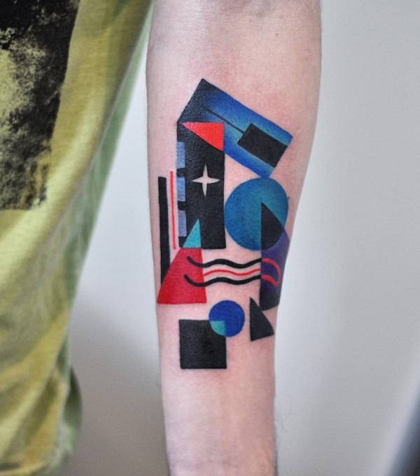 60 Mind Blow Abstract Tattoos Art And Design