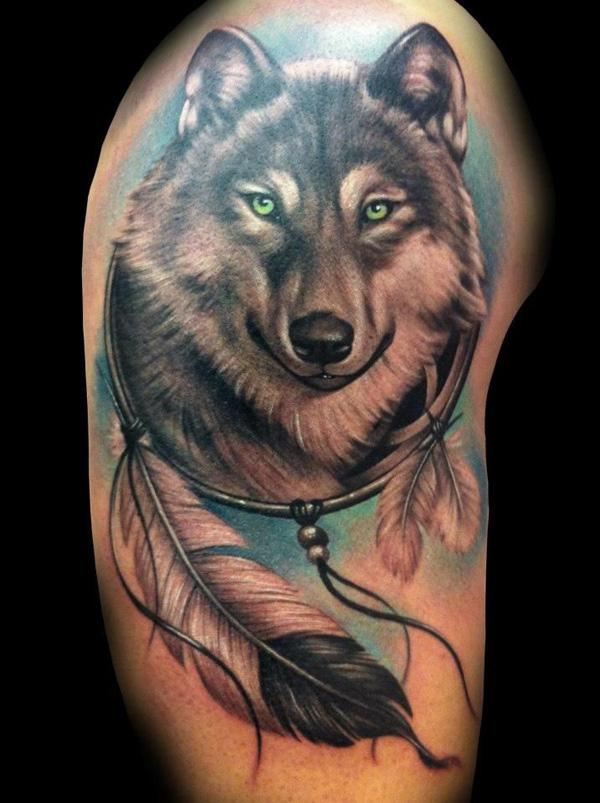 Download image Indian Wolf Tattoo Designs PC, Android, iPhone and iPad ...