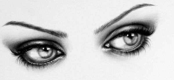 30 Expressive Drawings Of Eyes Art And Design