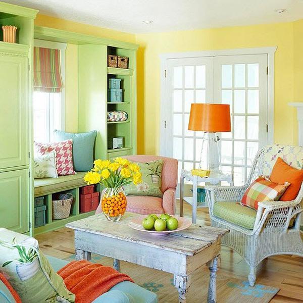 55 أفكار لتزيين غرف المعيشة