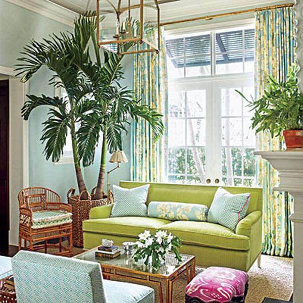 Plants Can Turn Your Living Room Upside Down.