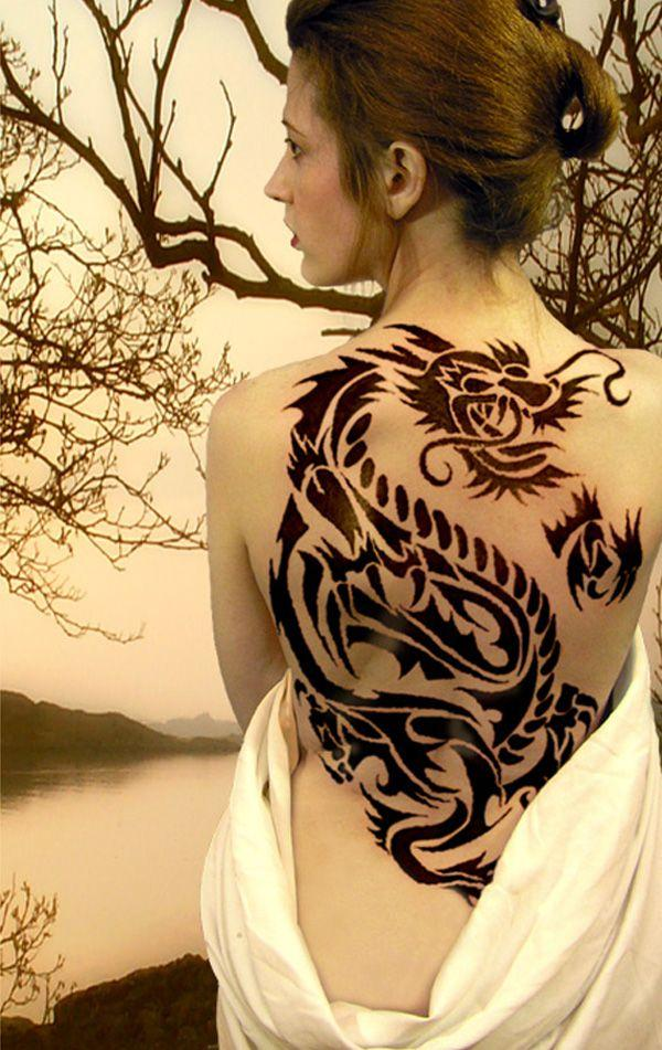 Tribal Tattoo For Women